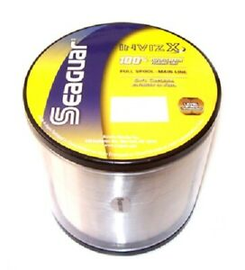 Seaguar Invizx 100% Fluoro Fishing Line 1000 yd 6 lb 06VZ1000