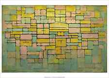 PIET MONDRIAN - Tableau No. 2 Composition No. V 1914 ART PRINT 19.5x27.5