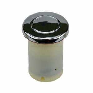 Chrome Air Button - Universal Spa Standard Retrofit - 35-43mm hole. 46mm Overall