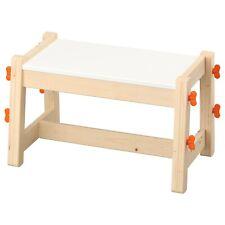 Ikea Flisat Children's Backless Bench, Adjustable 3 Settings Height