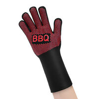 Grilling Gloves Heat Resistant Gloves BBQ Silicone Oven Mitts for Cooking Baking