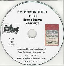 Peterborough Street Directory 1969 [CD] Kelly's