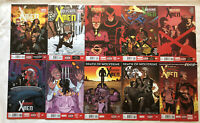 WOLVERINE & The X-MEN- ELEVEN ISSUE LOT -#2, 3, 4, 5, 6, 7, 8, 9, 10, 11, & 12