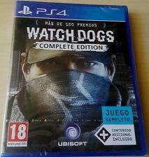 Watch Dogs The Complete Edition Juego completo todos los DLCs Playstation 4 PS4