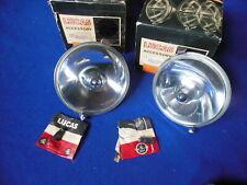 NOS Lucas WLR576 Spot Lamps (2) MGB Bugeye Healey Jaguar Triumph etc  54052785