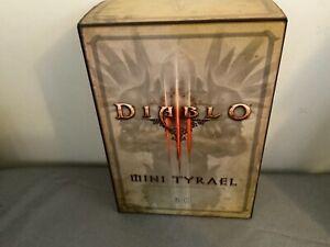 BLIZZCON 2011 Mini Tyrael Diablo 3 Collectible Figure - new in box NIB!!