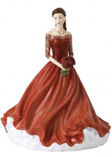 New Royal Doulton Happy Birthday 2019 Hn 5914 Figurine - New In Box - Msrp $320