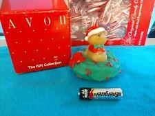 Avon Christmas Teddy Candle