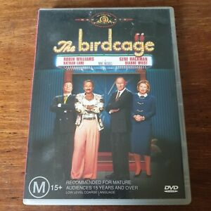 The Birdcage DVD R4 Like New! FREE POST