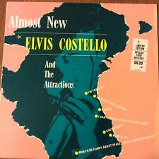 Elvis Costello & The Attractions ALMOST NEW elvis 82 LP Vinyl LIMITED EDITION