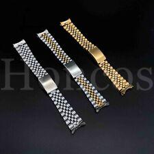 20mm Silver Jubilee stainless steel solid parnis bracelet fit 40mm parnis watch