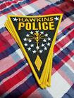 Stranger Things  Hawkins Police badge logo, 5