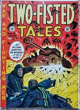 TWO-FISTED TALES #28 FN/VF 7.0 EC 7-8/1952