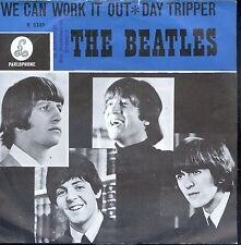 7inch THE BEATLES we can work it out HOLLAND BLUE COVER WOC