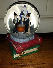 RARE Warner Bros ~ 2000 HARRY POTTER & SORCERER'S STONE Snow Globe Book One