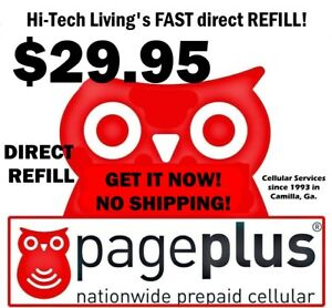 Page Plus $29.95 PREPAID DIRECT ELECTRONIC REFILL 🔥 GET IT TODAY 🔥US DEALER