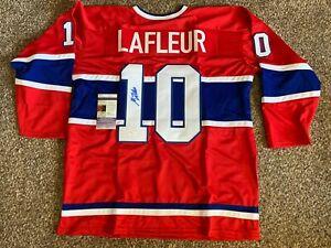 Guy Lafleur Signed Montreal Canadiens Jersey JSA COA