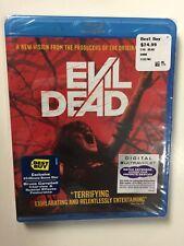 Evil Dead (Blu-ray Disc, 2013) New Best Buy w/Bonus Disc