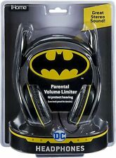 eKids Batman Kids Headphones, Adjustable Headband, Stereo Sound, 3.5Mm Jack,...