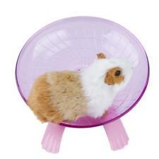 NEW Hamster Hedgehog Pet Flying Saucer Exercise Wheel Spinner Roller Running Toy