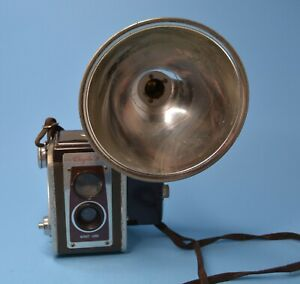 KODAK Duraflex IV Camera Kodet Lens & flash attachment