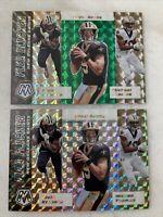2020 Mosaic New Orleans Saints Flea Flicker Prizms (2) Brees Kamara Thomas