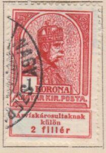 Ungarn Hungary Semi-Postal 1913 1k Used A18P32F530