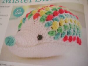 CROCHET PATTERN FOR MISTER SNUFFLES HEDGE HOG TOY.