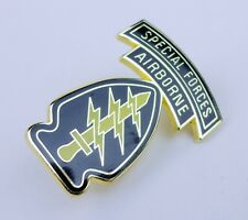 UNITED STATES US ARMY SPECIAL FORCES AIRBORNE BADGE PIN