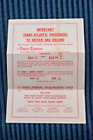"""London Transport """"Go As You Please"""" Ticket Brochure, May 1958"""
