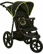 Hauck Dreirad Buggy Runner Extra Große Luft Räder bis 25 kg Black/Neon Yellow