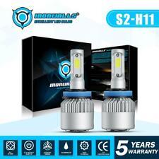 H11 H9 LED Headlight Hi/Lo Lights 6000K White Super Bright 2000W 300000LM Bulbs