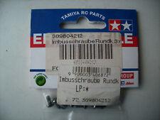 Tamiya 309804212 Rundkopf-Schraube 3x6mm (10 Stk.)