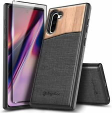 For Samsung Galaxy Note 9 8 Note 10 Plus Case Shockproof Cover +Screen Protector
