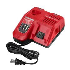 GENUINE Milwaukee M18 M12 Dual Port Rapid High Speed Battery Charger 48-59-1808