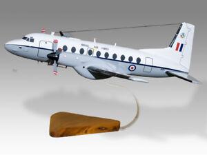 Hawker Siddeley CC2 Andover RAF Solid Mahogany Replica Airplane Desktop Model