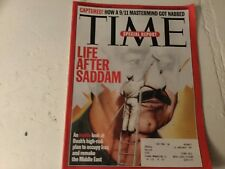 Time Magazine March 10 2003 Saddam Middle East