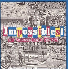 Various - Impossibles! 80s Japanese Punk & New Wave CD OBI SHAMPOO P-MODEL JAPAN