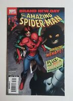 Amazing Spiderman #550 1st Appearance of Lily Hollister as Menace Marvel Comics