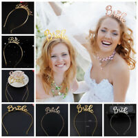 Bride Bridesmaid Bridal Shower Hen Party Tiara Crown Bachelorette Party Supplies