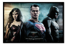 "Batman V Superman Dawn Of Justice  Fabric Poster BNIP size 27"" x 41"" approx."