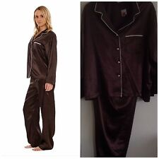 Marks and Spencer Satin Patternless Nightwear for Women