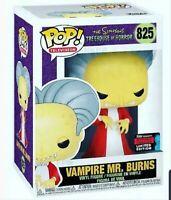 Funko Pop! Simpsons: VAMPIRE MR BURNS - NYCC Shared Exclusive