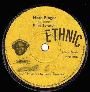 "LEE PERRY-mash finger    ethnic 7""     (hear)      reggae"