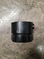 """*NEW* CANPLAS PLUMBING PVC FITTING CLEANOUT ADAPTER 2/"""" BLACK DWV PIPE RV CAMPER"""