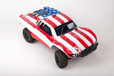 Custom Body Flag Star Style for Traxxas Slash  1/10 4x4 2WD Slayer Shell Cover
