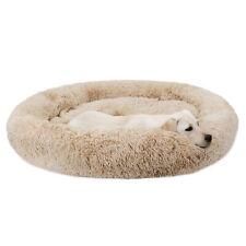 Original Cat and Dog Bed Fur Donut Cuddler Round Donut Dog Beds Indoor Cuddler