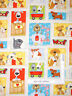 Puppy Dog Animal Scenes Cream Cotton Fabric Henry Glass 6958 Dogs Suds By Yard