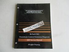 2003 Ford Bi-Fuel CNG Powertrain Control Emissions Diagnosis Manual OEM