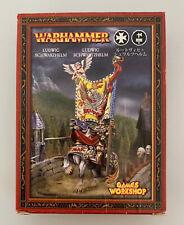 Warhammer Fantasy - Empire / Imperium - Ludwig Schwarzhelm - Metall - NEU
